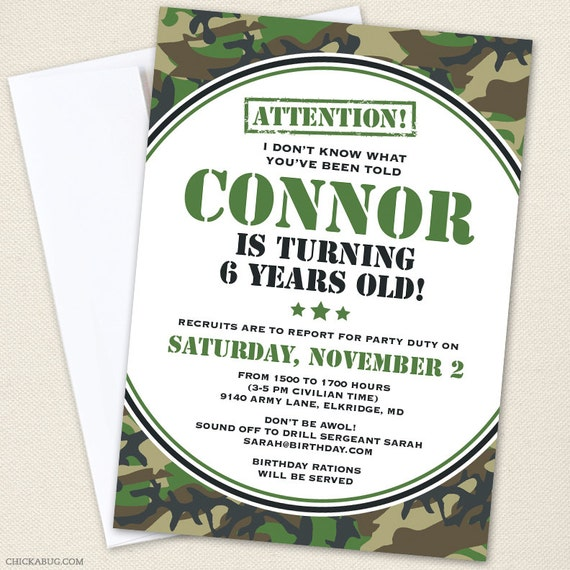 Pink Camo Birthday Invitations for best invitation example