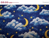 20% Off 1 Yd. Glittery Stars & Moons-Out Of This World Cotton Quilt Fabric