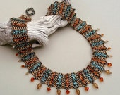 Dragonsong (beaded necklace)/ PDF file