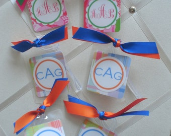 Mini  BagTags for Smaller Cases, Wristlets, Lunch Boxes