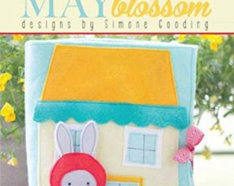 Rabbits Garden Book Pattern from May Blossom