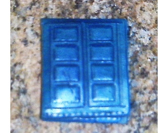 Dr Who TARDIS 2 panel leather wallet