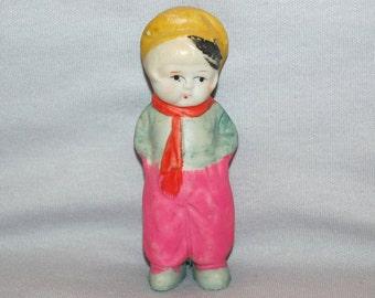 Vintage / Bisque Doll / Dutch Boy / frozen charlotte / penny doll / Vintage dolls