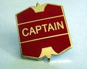 Wizard School Sports Team Captain Badge / Pin