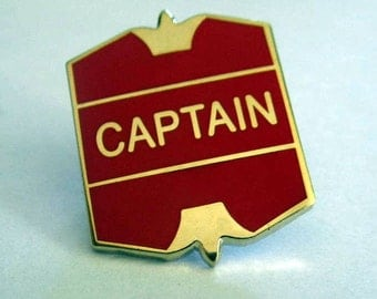 Hogwarts Quidditch Captain Badge / Pin
