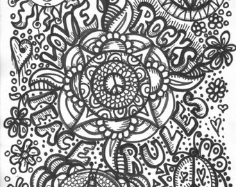 hippie art coloring book peace love and a coloring book - Art Coloring Books