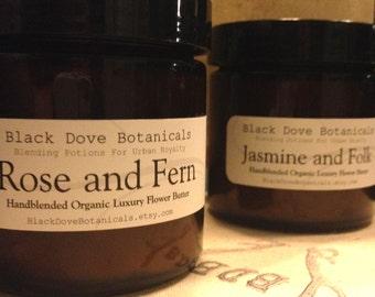 Jasmine and Folk... Organic Flower Décolleté Butter
