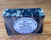 Activated Charcoal Skin Detox Soap GOAT MILK soap bar