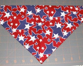 Dog Bandana, Patriotic, Independence, July 4, neckerchief, scarf, star