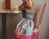 Easy Dress Pattern, Girls Dress Sewing Pattern, Tween Dress Pattern, Homegrown, Knit Woven Sewing Pattern, Easy Dress Sewing Pattern, 12m-14