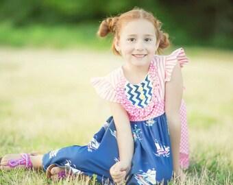 Girls Dress Pattern, Dress Sewing Pattern, Flutter Dress, Little LIzard King, Ruffle Dress Pattern, Matilda Jane Patterns, Fairy Flutter