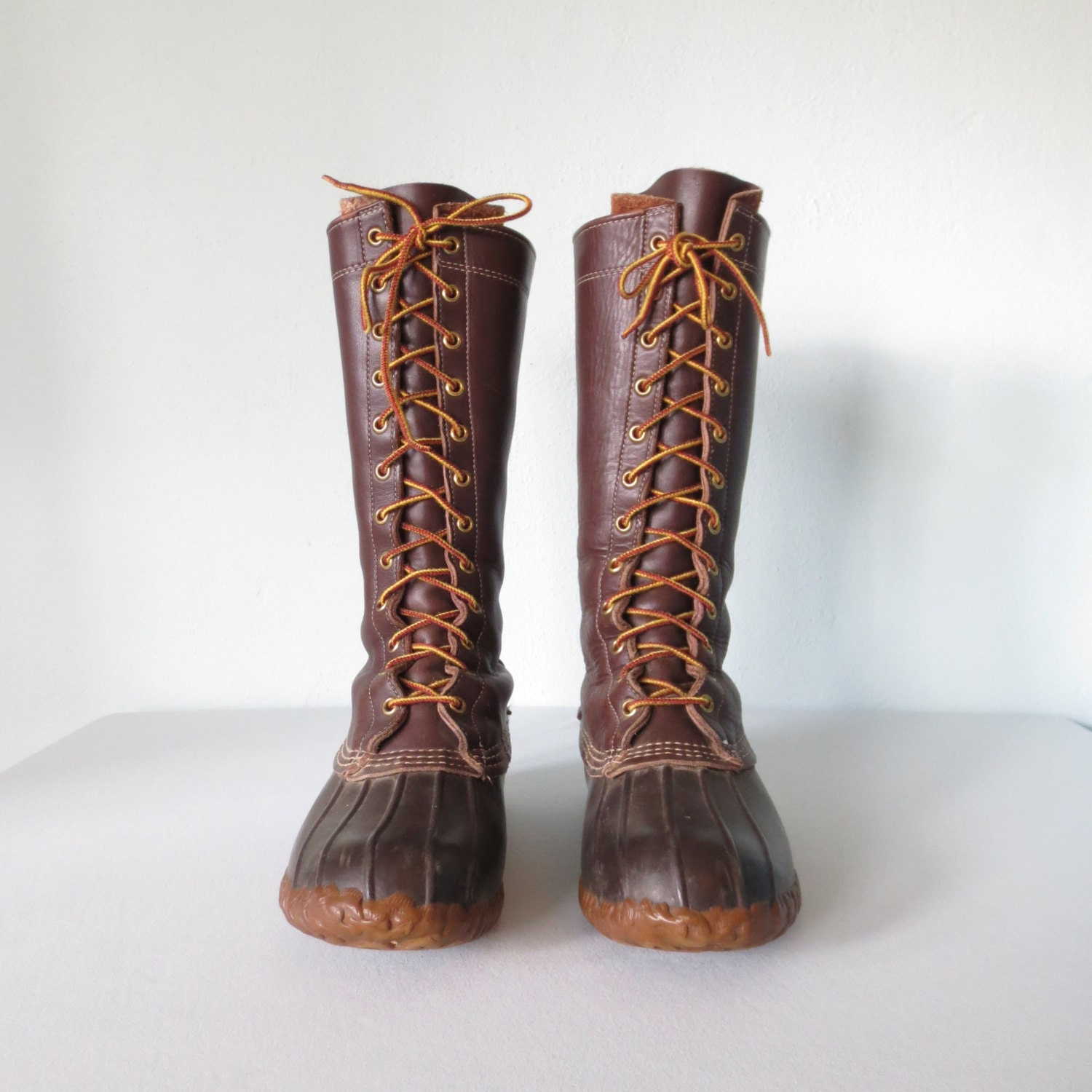 vintage field boots tall leather hunting boot rugged. Black Bedroom Furniture Sets. Home Design Ideas