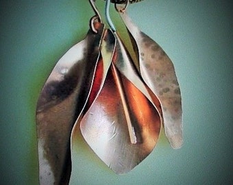 Calla Lily and Leaves PDF with Pattern