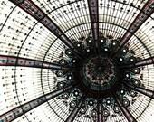 Galeries Lafayette, Paris Photography, Large Wall Art, Abstract, Neutral, Paris Print, Architecture, Paris Wall Decor