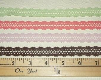 5/8 inch Crochet Trim - 1 Yard +