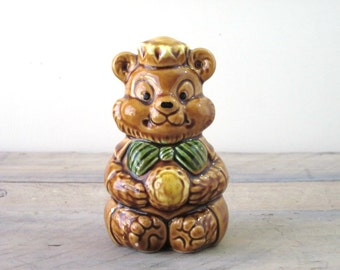 Vintage Bear Piggy Bank