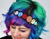 SALE - Solar System Headband, Janine Basil for Sugar and Vice - Christmas In July CIJ