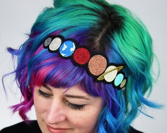 Solar System Headband, Janine Basil for Sugar and Vice