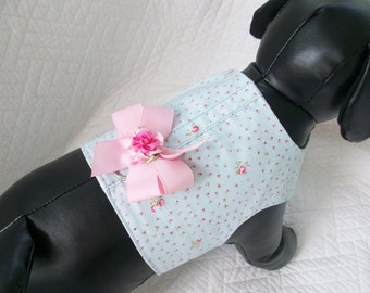 Shabby Blue Dog  Harness  Boutique Harness