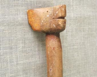 Folk Art , Cane , Walking Cane , Hand Carved , Folk Art Cane , Walking Stick , Walking , Handmade , Figural Cane , Animal Cane , Carving