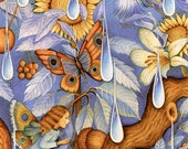 Periwinkle Fairies - A Fine Art Greeting Card