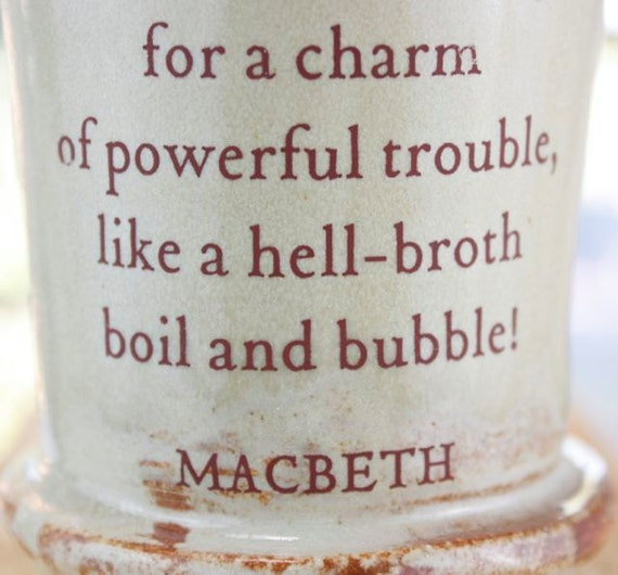 MUG: Double Double Toil and Trouble... Shakespeare's