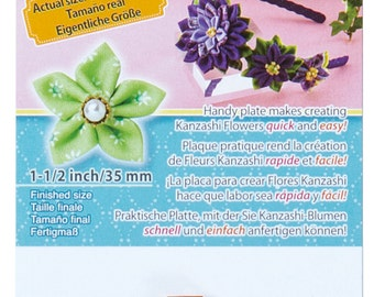 Clover Extra Small Kanzashi Flower Maker Pointed Petal Part No. 8491