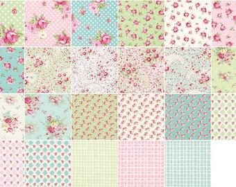 Rosey 30pc complete set Fat Quarter Bundle by Tanya Whelan for Free Spirit Fabrics