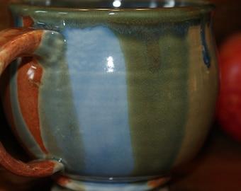 Ceramic Mug / Porcelain Mug / Multi Colored