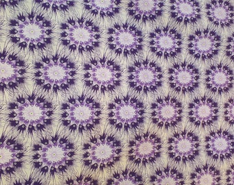 Quilting Fabric Cotton Premier Lord Pom Purple by Dan Bennett for Rowan