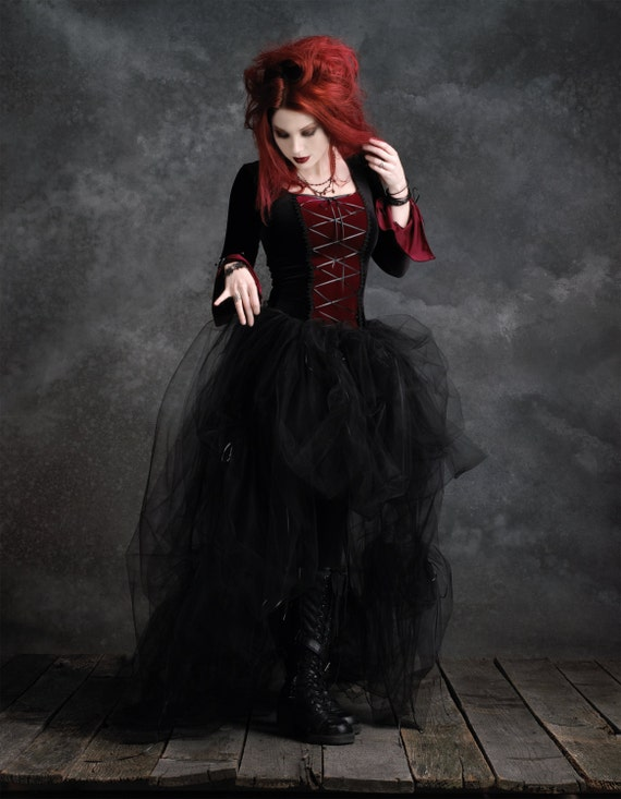 Rose Mortem Camellia Skirt