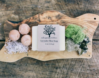 Lavender Shea All Natural Vegan Handcrafted Soap