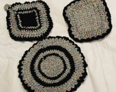Hand Croched Potholders and Hotpad