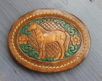 Leather Horse Buckle