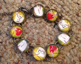 I Love You Image Bracelet