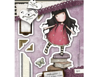Simply Gorjuss Urban Stamps - New Heights, 7 Images