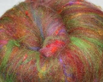 ART Batt Marti Gras 2.1oz Bright Multi color Textured Batt