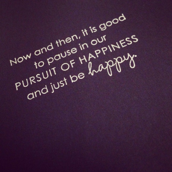 just be happy notebook