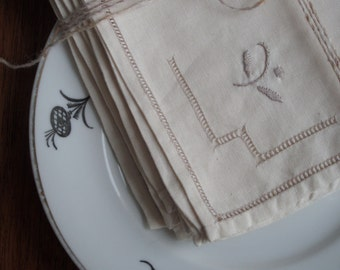 Vintage Swedish Linens: Wintertime