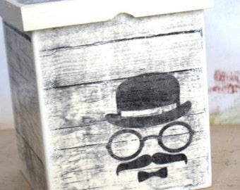 Sauve Wood Box - Organizer  - Gift Box