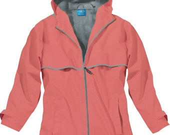 Coral Rain Jacket