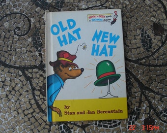 Old Hat New Hat by Stan and Jan Berenstain - Bright and Early Book - 1970