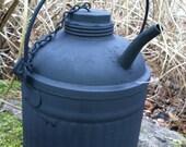 Vintage kerosene can railroad