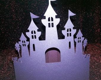 Diy castle stand alone centerpiece