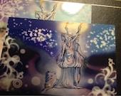 Greek goddess Hecate Day/Night Art Print