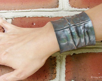 Rough & Ready Silver Statement Cuff