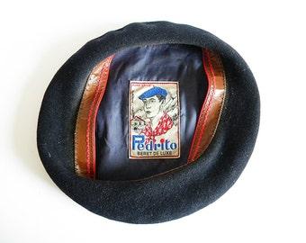 french wool beret Pedrito beret de luxe