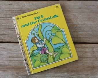 Vintage Little Golden Book, Jack and the Beanstalk, 1973