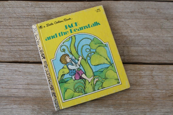 Little Golden Book Jack And The Beanstalk 1992 207-62
