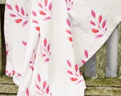 100% Organic Cotton Knit Throw - Sample Sale